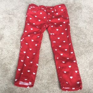 Gap Red Jeans 4T